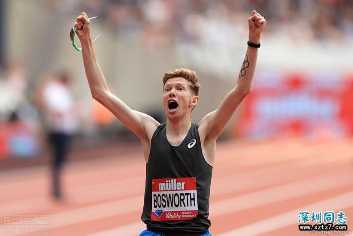 英国同志运动员创造一英里竞走世界纪录
