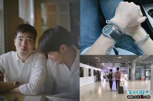 泰国男星Aof公布同性恋情,对象为酒店小开!