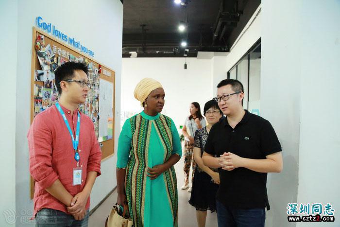 联合国艾滋病规划署驻华办国家代表:淡蓝是友好合作伙伴