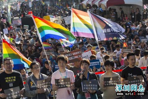 台湾:一男一女结合前提下立同性专法公投 专家质疑违宪