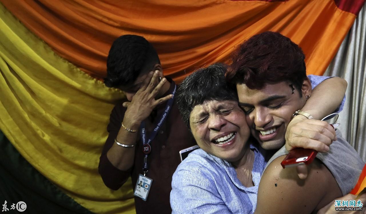 印度同性性行为合法化,LGBT人士欢呼雀跃