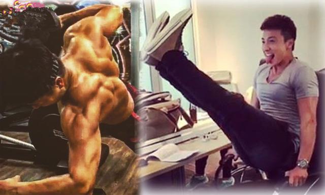 方力申和Stephy分手5个月,化悲愤为力量,变身肌肉男